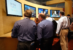 Attendees at The Cable Show 2010 Exploring Latest Cable Tech