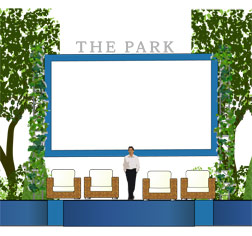 View of The Park stage