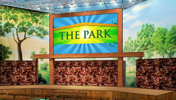 The Park: The Cable Show's Live Event Stage on The Trade Show Floor