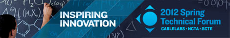 Inspiring Innovation - The 2012 Spring Technical Forum